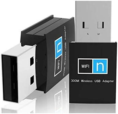 300Mbps Mini USB WiFi Adapter Wireless Network Card Dongle 802.11n//g//b 20dBm