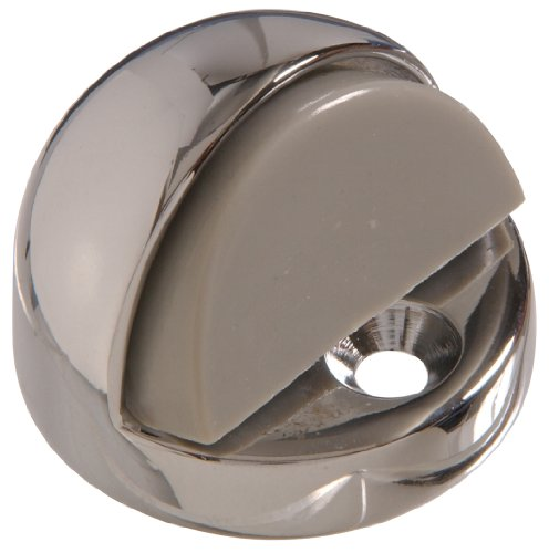 (Hillman Hardware Essentials 852970 High Dome Floor Door Stops Chrome 1/2