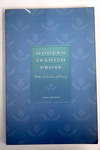 Modern Spanish Prose: With a Selection of Poetry