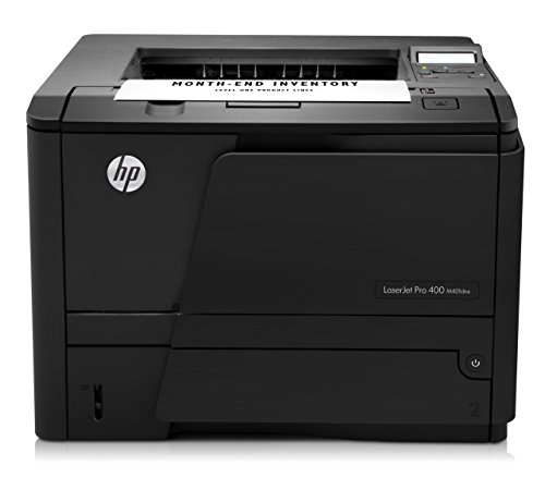 Basics Hp Laserjet - HP LaserJet Pro 400 M401dne Monochrome Printer (CF399A) - (Renewed)