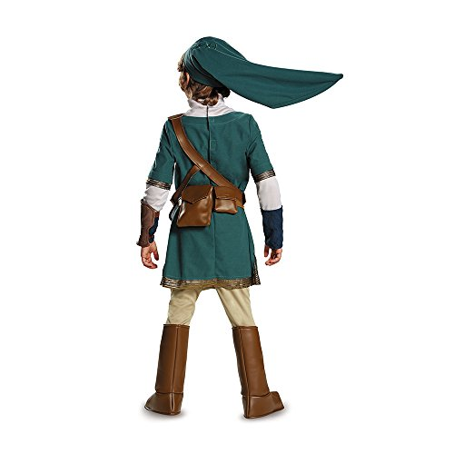 Link Prestige Legend of Zelda Nintendo Costume, Medium/7-8 - http://coolthings.us