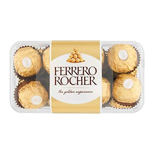 - Italian Chocolate | Ferrero Rocher | 16 pieces | Total Weight 7.05 ounce