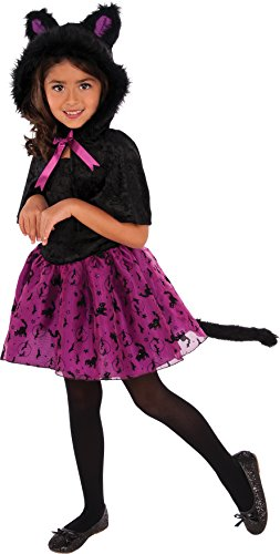 Child Pretty Kitty Costumes - Rubies 630592_L Child's Kitty Costume Dress, Black, Large
