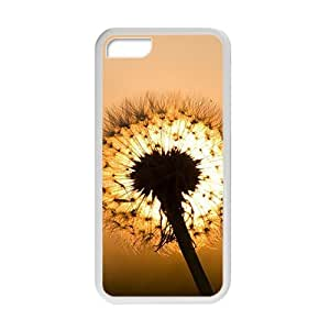 attractive dandelion with warm background personalized high quality cell phone case for Iphone 6 (4.5)