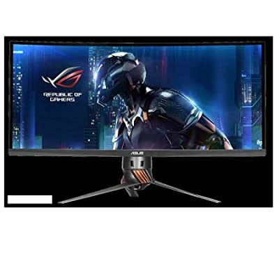 "ASUS 34"" Curved 3440x1440 100Hz IPS G-SYNC LCD Gaming Monitor"