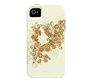 1975 iPhone 4/4s Beige Tough Phone Case - Design By Humans