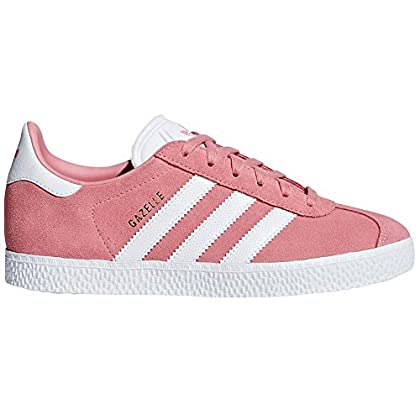 Adidas Gazelle, Trainers for Womens. Black, Pink,red, Blue. Sneakers. (4.5 UK, Tactile Rose/White)