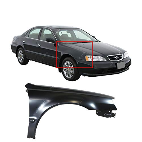 MBI AUTO - Primered, Steel Passengers Right Front RH Fender for 2002 2003 Acura TL 02 03, AC1241115 ()