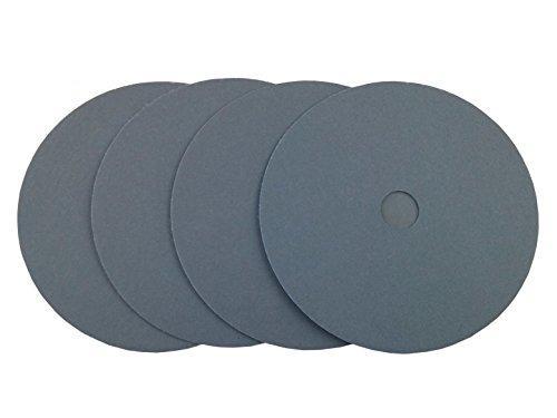 (Abrasive Resource 7 Black Waterproof Hook and Loop Grip Sanding Discs (50 Pack, 320 Grit))