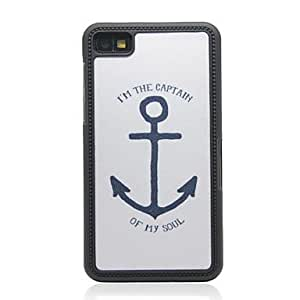 Big Anchor Pattern Hard Case for Blackberry