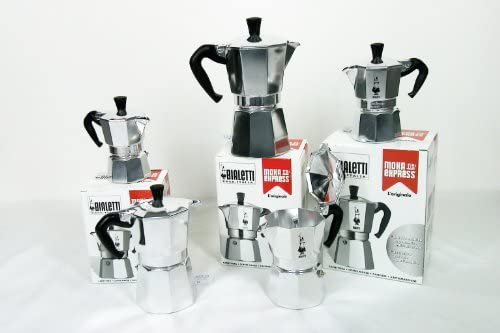Bialetti Moka Express, Plata - Cafetera italiana: Amazon.es: Hogar