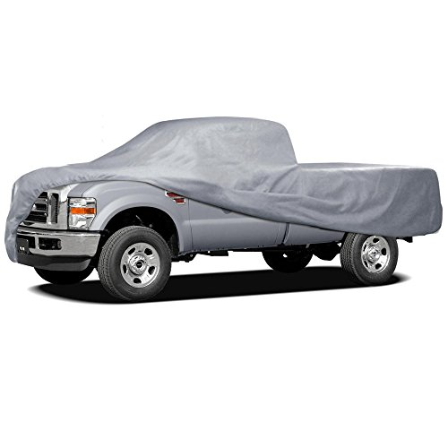 Motor Trend Auto Armor Outdoor Premium Truck Cover All Weather Protection Waterproof Cover (7 Size) (Truck Covers)