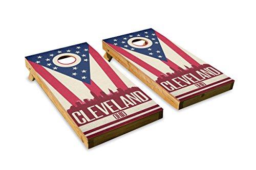 State Flag Cornhole Decals ACA Regulation Size Cornhole Board Decals Cornhole Crew