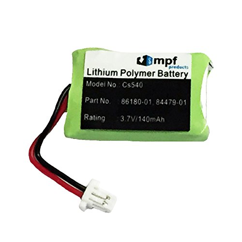 Replacement 140mAh 86180-01 84479-01 Battery for Plantronics