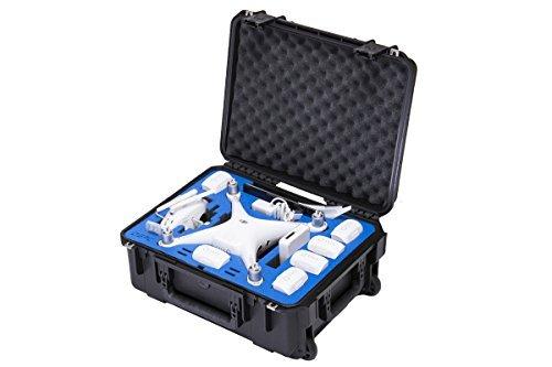 Go Professional Cases Compact Wheeled Case for DJI Phantom 4, Phantom 4 Pro, Phantom 4 Pro+ Quadcopter & Accessories