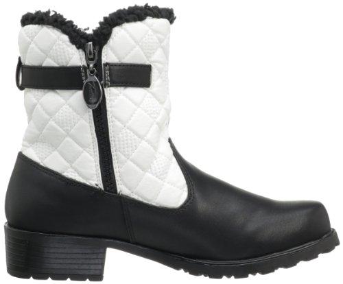 Trotters Dames Blast Iii Boot Zwart / Wit