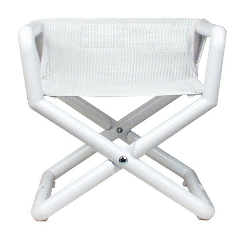 Hoohobbers Junior Director Chair, White Mesh