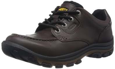 KEEN Men's Nopo Lace Shoe,Brown Full Grain,7 M US