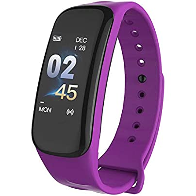 DMMDHR Fitness Tracker Watch Smart Band Waterproof Heart Rate Monitor Blood Pressure Smart Band health Bracelet Smart Wristband Estimated Price £34.96 -