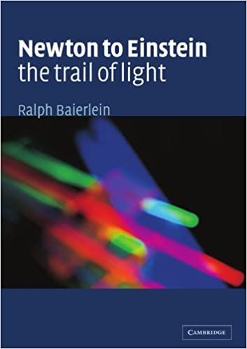 Newton to Einstein: The Trail of Light: An Excursion to the Wave
