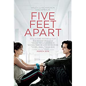 Five Feet Apart 2019 Original Authentic Movie Poster 27x40 Double Sided