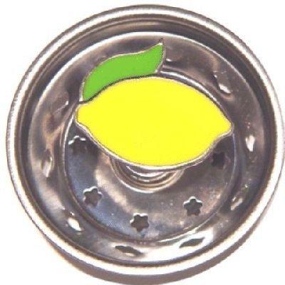 Enamel Kitchen Strainer Lemon ()