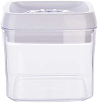 UNILIFE Frascos de plástico Transparentes, Contenedores de Almacenamiento de Alimentos con Caja Durable versátil Tapa preservar Paquete Tanque de 2-E 1000mlx2: Amazon.es: Hogar