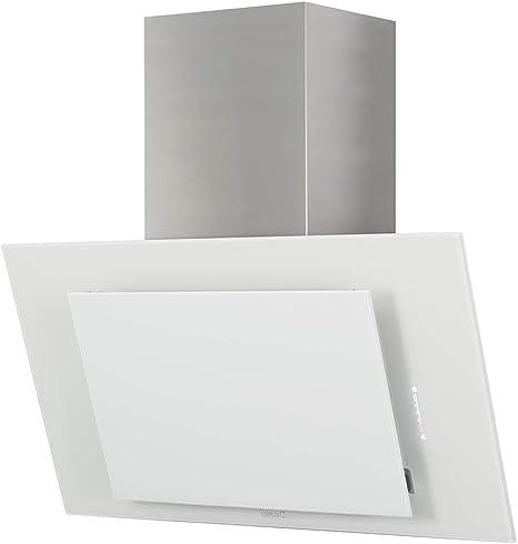 CATA | campana extractora | Modelo THALASSA 700XGWH | 5 velocidades de extracción | campana extractora cocina 820m3/h - 200m3/h | Acabado en cristal blanco/negro |: 343.06: Amazon.es: Grandes electrodomésticos
