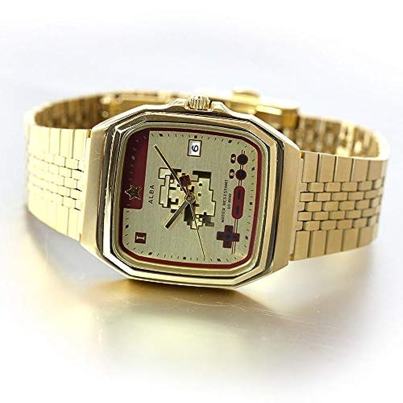 SEIKO ALBA 남여공용 시계 슈퍼 마리오 브라더스 ACCK711 (한정판)