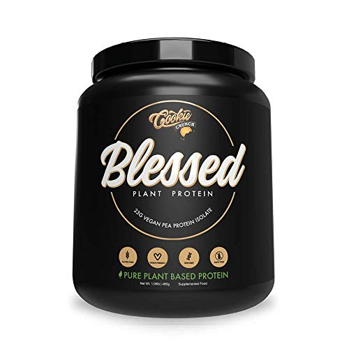 BLESSED Plant Based Protein Powder – 23 Grams, All Natural Vegan Protein, 2 Pounds, 30 Servings (Vanilla Chai) 5