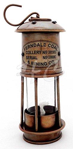 Hanzlacollection Oil Lanterns - Antique Brass Ferndale Coal Nautical Minor Oil Lamp 7
