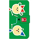 [iPhone6Plus] スマホケース 手帳型 ケース デザイン手帳 アイフォン6 プラス 8152-C. デザインC かわいい おしゃれ かっこいい 人気 柄 ケータイケース クーピー 柄 クレヨン 柄 クレパス 柄