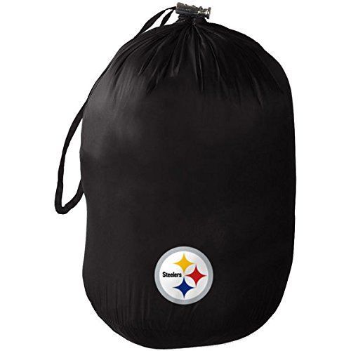Pittsburgh Steelers Women's Black Packable Polyfill Jacket by GIII