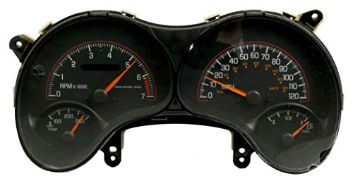 Grand Speedometer Am Pontiac - 00-03 USED Pontiac Grand AM Single Instrument Dash Cluster Speedometer 09383052