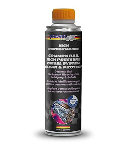 Powermaxx Common-Rail High Pressure Diesel System Clean and Protect Additive (375 mL)