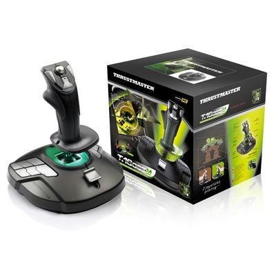 New Thrustmaster T.16000m Joystick For Pc 16 X Programmable Button Hat Switch Rudder Control
