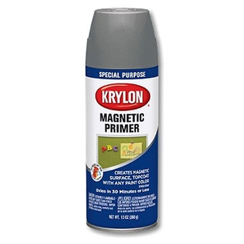 Krylon K03151000 Magnetic Aerosol Spray Paint, 13 Ounce