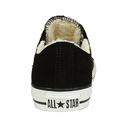 Leather 112410 Chuck Ox Womens Star US All 5B Shearling 9 Black Taylor Converse M Lined Suede YZqdwY