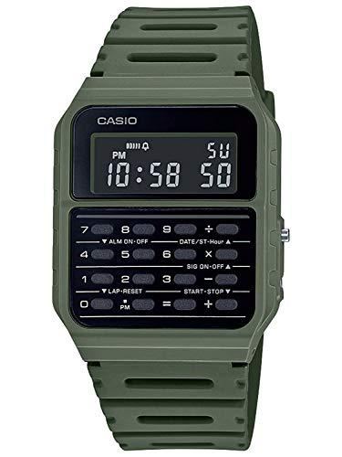 Casio Collection Retro Mens Digital Watch with Plastic Strap CA-53WF