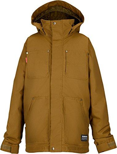 Burton Barnyard Snowboard Jacket Hickory Kids SZ M by Burton