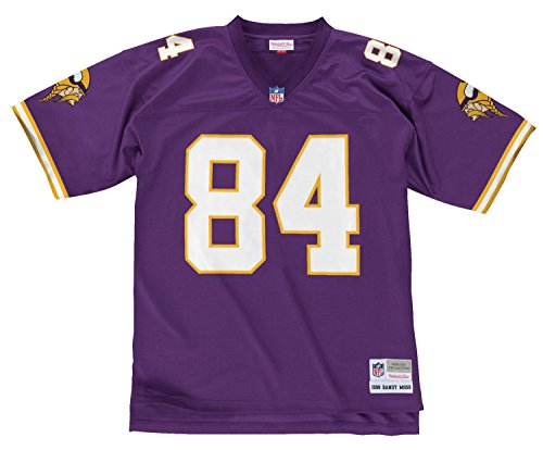- Mitchell & Ness Minnesota Vikings Randy Moss #84 Legacy Jersey, Purple, X-Large