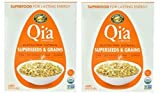 Qi'a Superfood Organic Hot Oatmeal – Superseeds and Grains – 2 Boxes with 6 Packets Each Box (12 Packets Total)