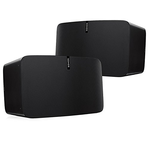 Sonos Play:5 Multi-Room Digital Music System Bundle (2 - Play:5 Speakers) - Black