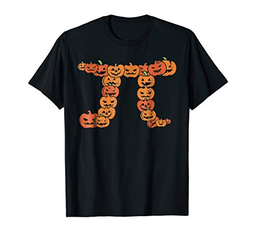 Pumpkin Pi Math Shirt Funny Easy Halloween Teacher Costume