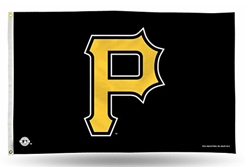 fan products of MLB Pittsburgh Pirates 3-Foot by 5-Foot Banner Flag