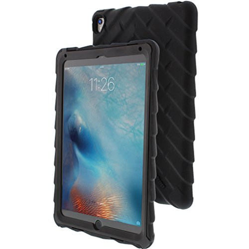 Gumdrop Cases Droptech for Apple iPad Pro 9.7 (2016) A1673, A1674, A1675 Rugged Tablet Case Shock Absorbing Cover, Black by Gumdrop Cases