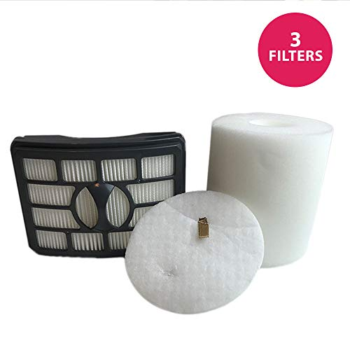 Think Crucial Replacement for Shark NV500 HEPA Style, Foam & Felt Filters Fit Rotator Pro NV500, Compatible with Part # XFF500 & XHF500 (Shark Nv502 Best Price)