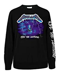 METALLICA Ride The Lightening Mens Music Long Sleeve Shirt