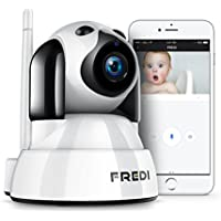 Fredi Wireless Baby Monitor 720P HD Security Camera