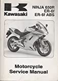 Kawasaki NINJA 650R ER-6f ABS ER-6f Motorcycle Service Manual